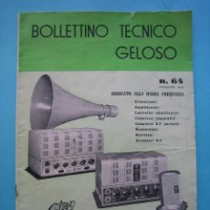Catálogos publicitarios: MUSICA - SONIDO - CATALOGO PRIMAVERA 1956 - AMPLIFICADOR - RADIO - TOCADISCOS - MAGNETOFON - ETC.. Lote 103891975