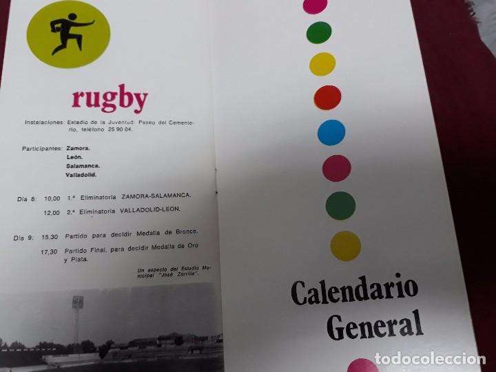 Catálogos publicitarios: JUEGOS DEPORTIVOS ( RUGBY, VOLEI, NATACION, PELOTA A MANO, TIRO... ) CASTILLA Y LEON 1973. - Foto 5 - 104007979