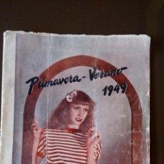 Catálogos publicitarios: EL CORTE INGLES - PRIMAVERA VERANO 1949 - VER FOTOS. Lote 104083015