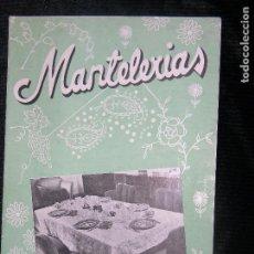 Catálogos publicitarios: (F.1) CATALOGO DE MANTELERÍAS . Lote 104267075