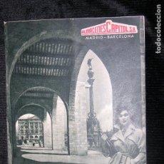 Catálogos publicitarios: 8F.1) ALMACENES CAPITOL S.A. MADRID-BARCELONA CATÁLOGO AÑO 1955. Lote 104267363