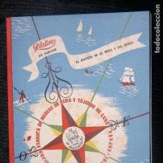 Catálogos publicitarios: (F.1) CATALOGO PUBLICITARIO DE PLATINO (FÁBRICA DE MEDIAS Y TEJIDOS DE LANA). Lote 104268819