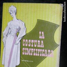 Catálogos publicitarios: (F.1) CATALOGO DE COSTURA SIMPLIFICADA (EDICIÓN CORREGIDA Y AUMENTADA. Lote 104269095