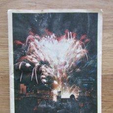 Catálogos publicitarios: 1969-PROGRAMA HOGUERAS DE SAN JUAN. ALICANTE. PUBLICIDAD KAS. ORIGINAL. Lote 104589959