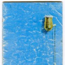Catálogos publicitarios: BJC CATALOGO GENERAL DE PEQUEÑO MATERIAL ELECTRICO AÑO 1969 34 PAGINAS (2). Lote 105225771