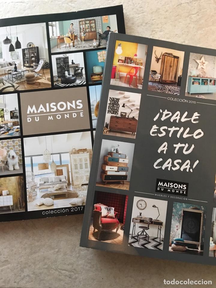 catalogo publicitario maison du monde ao 2015 y 2017 colecciones muebles