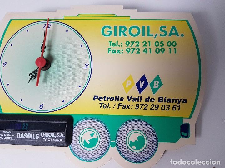 Catálogos publicitarios: RELOJ PUBLICIDAD GIROL,SA ( FUNCIONA ) - Foto 3 - 105836207