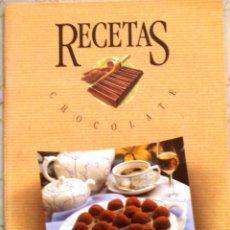 Catálogos publicitarios: RECETAS DE CHOCOLATE - NESTLE POSTRES. Lote 106020111