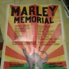 Catálogos publicitarios: CARTEL BOB MARLEY MEMORIAL LONDON LONDRES. Lote 106025075