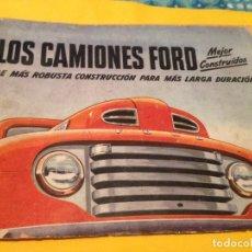 Catálogos publicitarios: CATALOGO ANTIGUO CAMIONES FORD 47 PÁGINAS . Lote 106046635