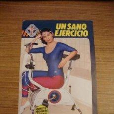 Catálogos publicitarios: (TC-100) FOLLETO DIPTICO BICICLETAS ESTATICAS TORROT. Lote 107184787