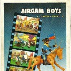 Catálogos publicitarios: ANTIGUA PUBLICIDAD DE AIRGAM BOYS SUPER STARS - 25,5X17,5 CM - EXTRAÍDO DE REVISTA.. Lote 107391663