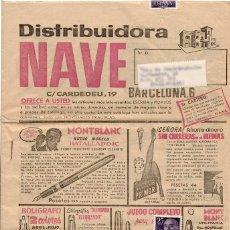 Catálogos publicitarios: CATÁLOGO VENTA POR CORREO DISTRIBUIDORA NAVE AÑOS 50. Lote 108108631