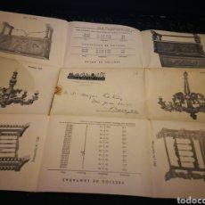 Catálogos publicitarios: MUEBLES DURAN. MADRID 1940. Lote 108397768
