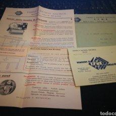 Catálogos publicitarios: MATERIAL ELECTRICO TYME. RIBI. BARCELONA. Lote 108404214