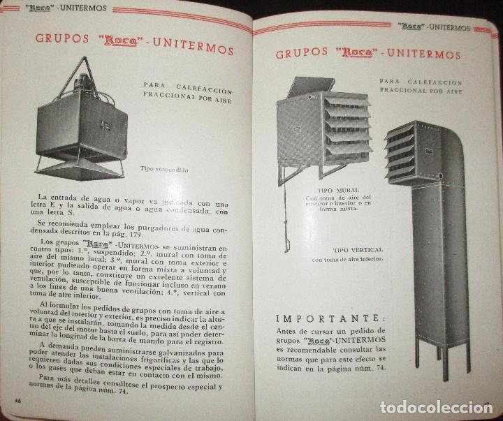 Cat logo roca n 20 de radiadores calderas y a vendido for Catalogo de radiadores