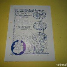 Catalogues publicitaires: ANTIGUO FOLLETO IMPRESO A DOBLE CARA PUBLICIDAD DEL GRUPO ELECTRÓGENO AMERICANO KOHLER - AÑO 1920S. Lote 109436691