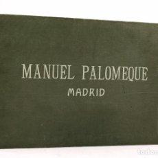Catálogos publicitarios: CATÁLOGO DE ESCULTURAS A LA VENTA: SANTOS, VIRGENES, ETC. MANUEL PALOMEQUE, MADRID.. Lote 110348047
