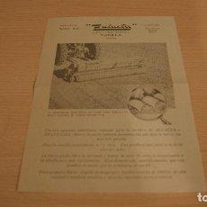 Catálogos publicitarios: ZULUETA TUDELA NAVARRA SEMBRADORA SURE-STAND PARA ALFALFA . Lote 110823483