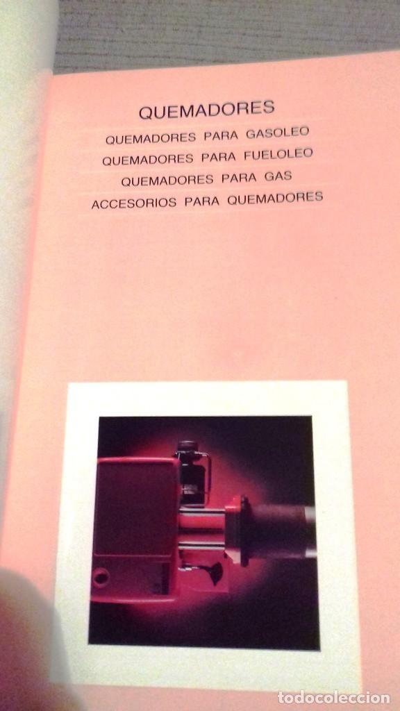 Catálogos publicitarios: Catalogo general Aparatos de Calefacción ROCA. Noviembre 1984. 286 págs. Fotos color. Papel couché. - Foto 4 - 110935659