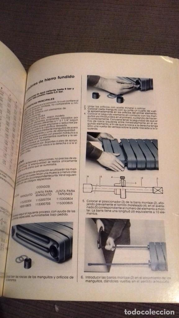 Catálogos publicitarios: Catalogo general Aparatos de Calefacción ROCA. Noviembre 1984. 286 págs. Fotos color. Papel couché. - Foto 5 - 110935659