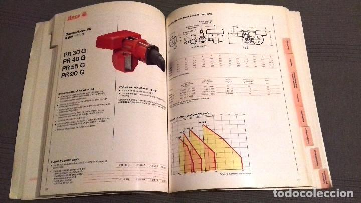 Catálogos publicitarios: Catalogo general Aparatos de Calefacción ROCA. Noviembre 1984. 286 págs. Fotos color. Papel couché. - Foto 6 - 110935659