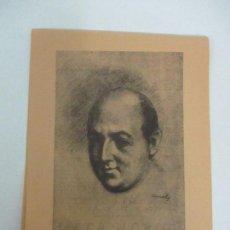 Catálogos publicitarios: PROGRAMA, CATÁLOGO - ELS POETES I ELS MUSICS - JOSEP Mª DE SAGARRA - PALAU MUSICA - AÑO 1927. Lote 111700615