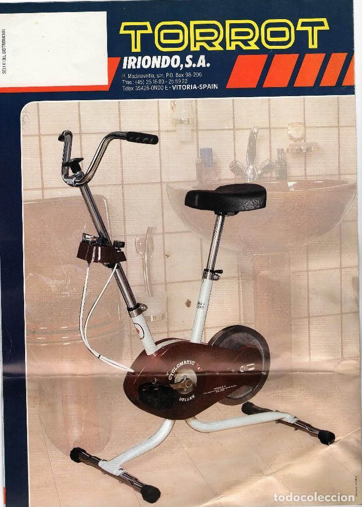 Catálogos publicitarios: Bicicletas Estáticas Torrot VITORIA - Foto 2 - 111915151