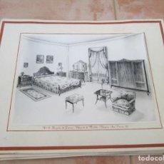 Catálogos publicitarios: LOTE DE 8 LAMINAS FOTOGRÁFICAS, PROYECTOS DE GIMENEZ, DIBUJANTE DE MUEBLES,VALENCIA-SAN VICENTE,161.. Lote 112342095