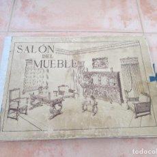Catálogos publicitarios: CATALOGO SALÓN DEL MUEBLE, FALTAN 8 DE LAS 36 LITOGRAFÍAS DE LAS QUE SE COMPONÍA.. Lote 112344311