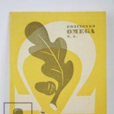 Catálogos publicitarios: CATÁLOGO PUBLICITARIO - EDICIONES OMEGA. PUBLICACIONES ARTE Y FOTOGRAFÍA, CATÁLOGO 1949 - BARCELONA. Lote 112597667
