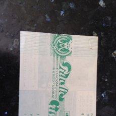 Catálogos publicitarios: TARIFA DE PUBLICIDAD Y PRECIO DE RADIO CASTILLA BURGOS AÑO 1950. Lote 113338271