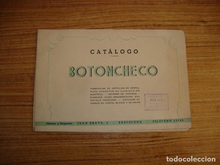 (TC-119) CATALOGO BOTONCHECO 1947 CON TARIFAS (Coleccionismo - Catálogos Publicitarios)