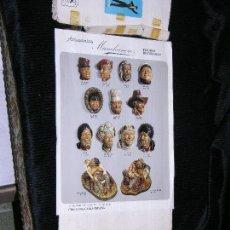 Catálogos publicitarios: F1 CATALOGO DE FIGURAS ARTESANAS Y DECORADAS MANCHANERO CHICLANA CADIZ ESPAÑA.. Lote 113592827