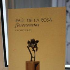 Catálogos publicitarios: CATALOGO DE ESCULTURAS. RAUL DE LA ROSA, FLORESCENCIAS.ATENEO DE LA LAGUNA 2002. CANARIAS. Lote 113671235
