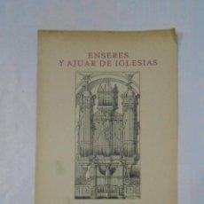 Catálogos publicitarios: FOLLETO PUBLICITARIO ENSERES Y AJUAR DE IGLESIAS HERDER Y CIA FRIBURGO DE BRISGOVIA. ALEMANIA. TDKP1. Lote 113995123