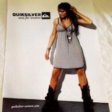 Catálogos publicitarios: QUIKSILVER - ANUNCIO PUBLICITARIO EXTRAÍDO DE REVISTA - 29X21CM. Lote 114036683