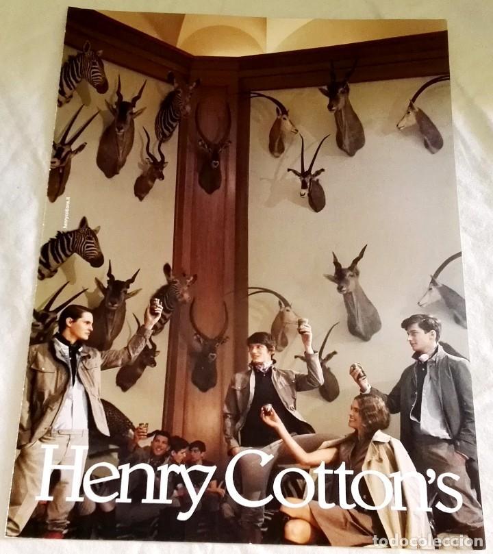 HENRY COTTON´S - ANUNCIO PUBLICITARIO EXTRAÍDO DE REVISTA - 29X21CM (Coleccionismo - Catálogos Publicitarios)