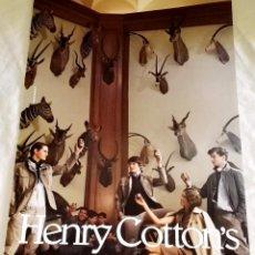 Werbekataloge - Henry Cotton´s - Anuncio Publicitario Extraído De Revista - 29x21cm - 114038787