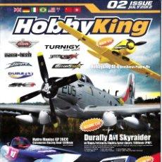 Catálogos publicitarios: HOBBYKING. 02 ISSUE JULY 2012.. Lote 114464383