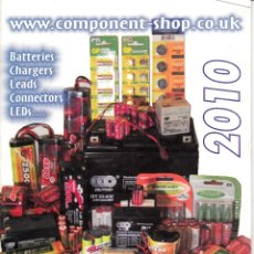 Catálogos publicitarios: THE LITTLE BOOK OF LOTS OF BATTERIES. 2010.. Lote 114464671