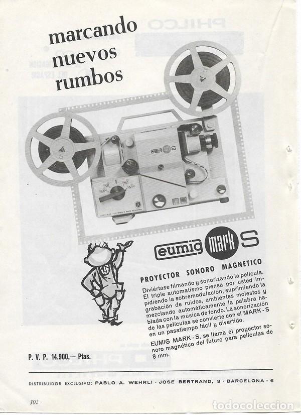 Catálogos publicitarios: PUBLICIDAD 1964 HOJA REVISTA ANUNCIO TELEVISOR TELEVISIÓN TV PHILCO - PROYECTOR EUMIG MARK S - Foto 2 - 114640331