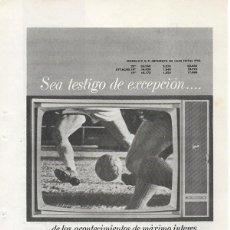Catálogos publicitarios: PUBLICIDAD 1964 HOJA REVISTA ANUNCIO TELEVISOR TELEVISION TV WESTINGHOUSE. Lote 114648263
