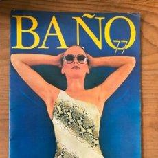 Catálogos publicitarios: CATALOGO PUBLICIDAD DE BAÑO 77 EL CORTE INGLES - MODA 1977. Lote 114691379
