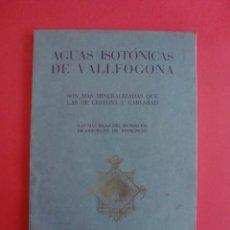 Catálogos publicitarios: AGUAS MINERO MEDICINALES ISOTÓNICAS DE RIUCORP LA HORMIGA DE ORO BARCELONA MCXXX. Lote 114738019