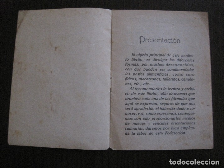 Catálogos publicitarios: FABRICA PRODUCTOS ALIMENTICIOS -FRANCISCO GARRIGA - BARCELONA - FORMULAS -VER FOTOS-(V-13.772) - Foto 4 - 114832095