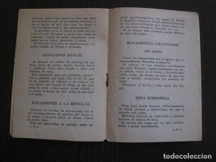 Catálogos publicitarios: FABRICA PRODUCTOS ALIMENTICIOS -FRANCISCO GARRIGA - BARCELONA - FORMULAS -VER FOTOS-(V-13.772) - Foto 5 - 114832095