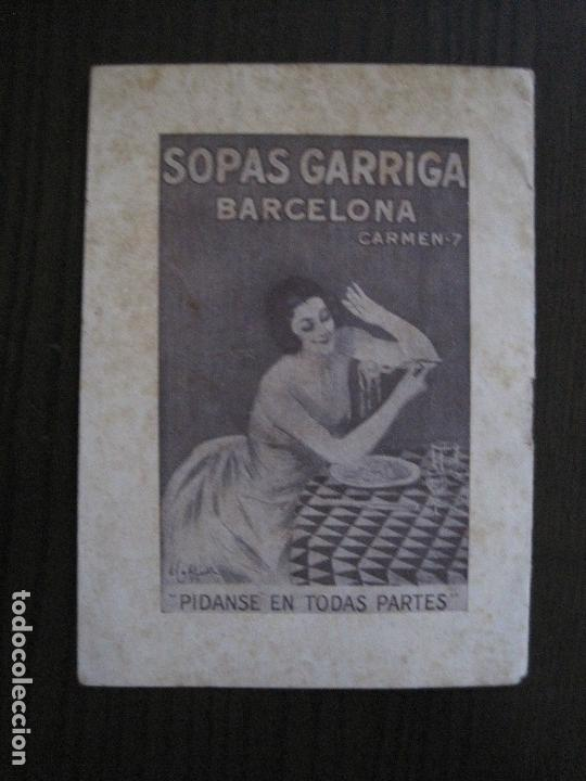Catálogos publicitarios: FABRICA PRODUCTOS ALIMENTICIOS -FRANCISCO GARRIGA - BARCELONA - FORMULAS -VER FOTOS-(V-13.772) - Foto 7 - 114832095