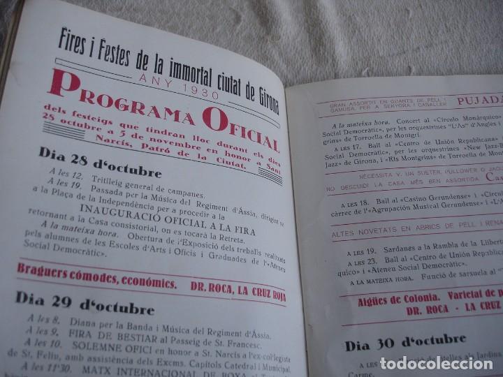 Catálogos publicitarios: Fires i festes de Girona 1930 - Foto 5 - 115309947