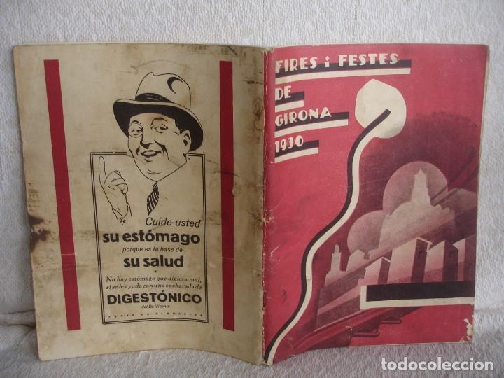 Catálogos publicitarios: Fires i festes de Girona 1930 - Foto 12 - 115309947